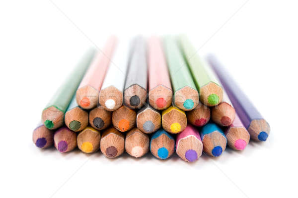 Colored pencils.  Stock photo © All32