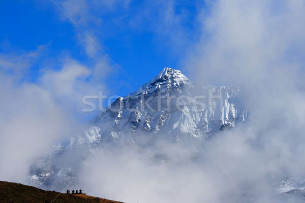 The high snow capped mountains Stock photo © All32