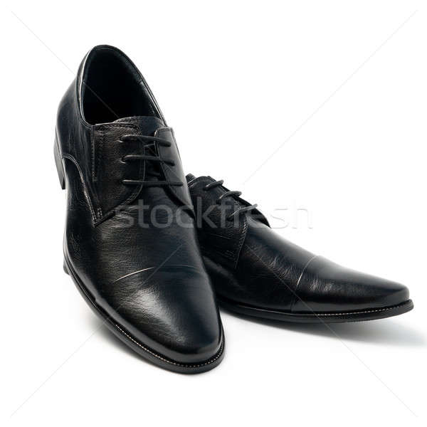 The black man's shoes Stock photo © All32