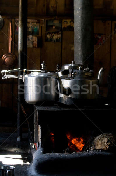 Pots and pans Stock photo © All32