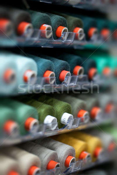 The reels with colorful threads  Stock photo © All32