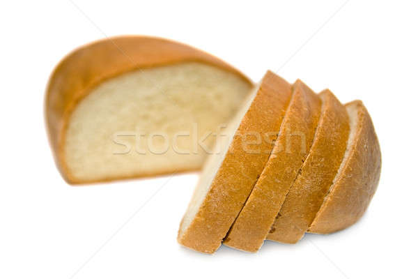 Threaded bread.  Isolated on white background. Stock photo © All32