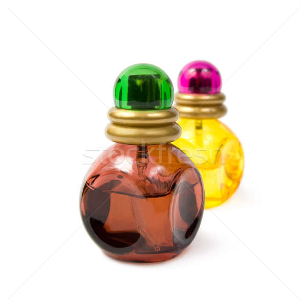 Stock photo: Bottles of perfume.