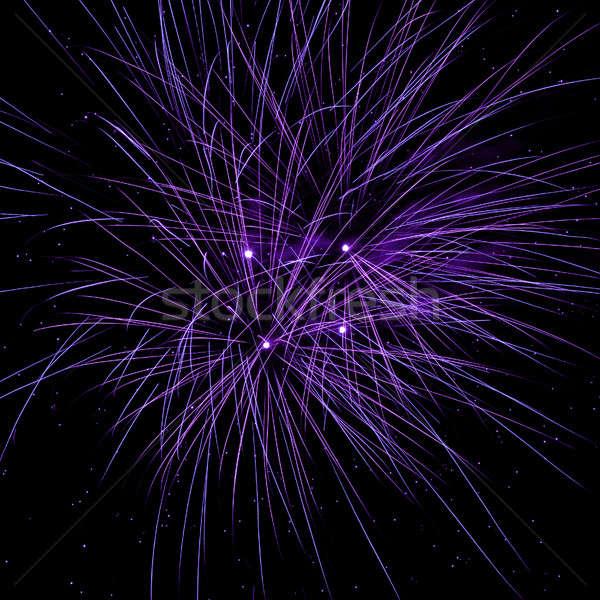 фейерверк ночное небо небе вечеринка искусства ночь Сток-фото © All32