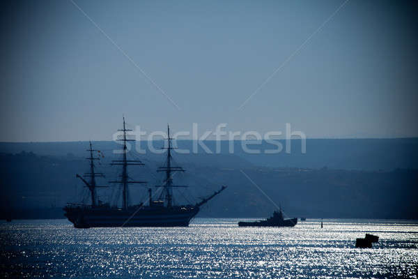 Large sailing ship Stock photo © All32