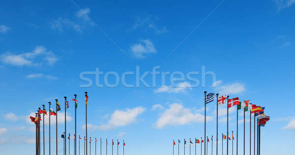 Flags of different countries  Stock photo © All32