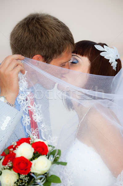 Newlyweds Stock photo © All32