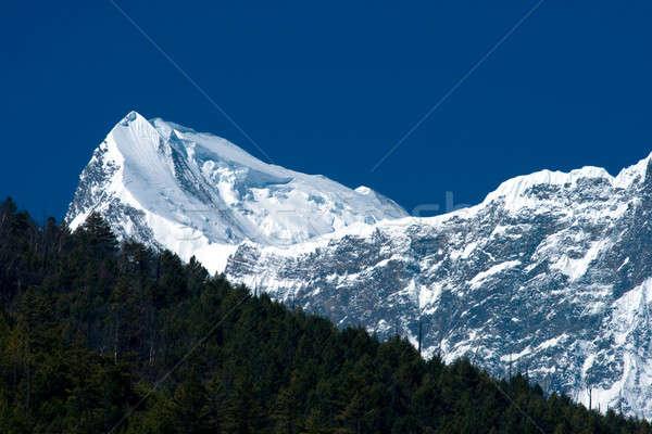 Tibetan mountains Stock photo © All32