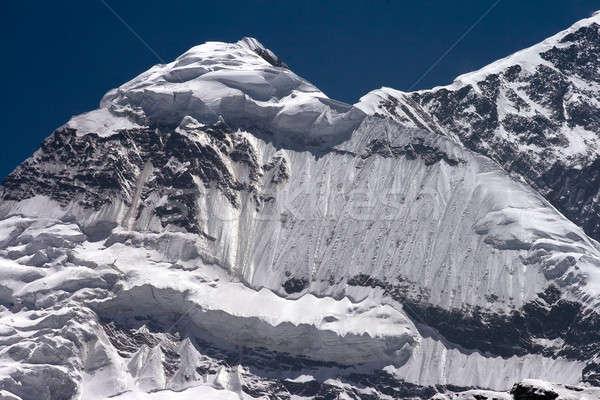 гор Непал свет снега синий рок Сток-фото © All32