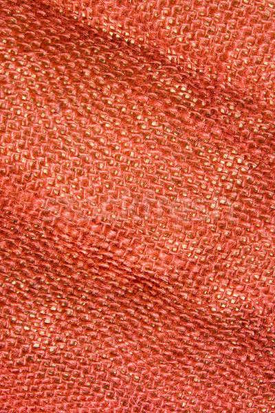 Can kullanılmış arka plan Retro bez tekstil Stok fotoğraf © All32