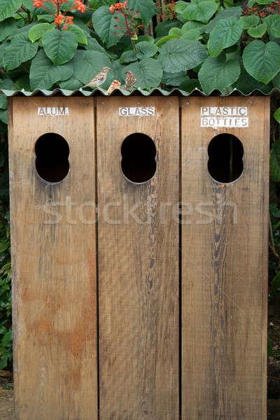 Recycle Bins Stock photo © allihays