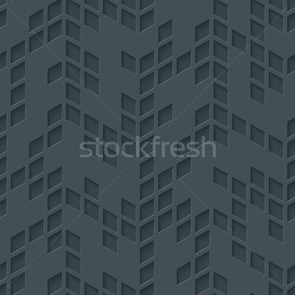 抽象的な 幾何学的な 中性 モザイク ベクトル ストックフォト © almagami