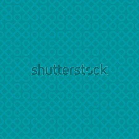 Linhas sem costura vetor padrão neutro turquesa Foto stock © almagami