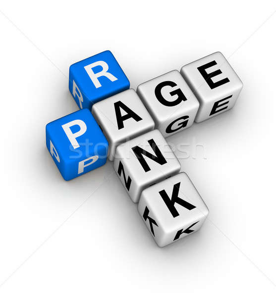 page rank Stock photo © almagami