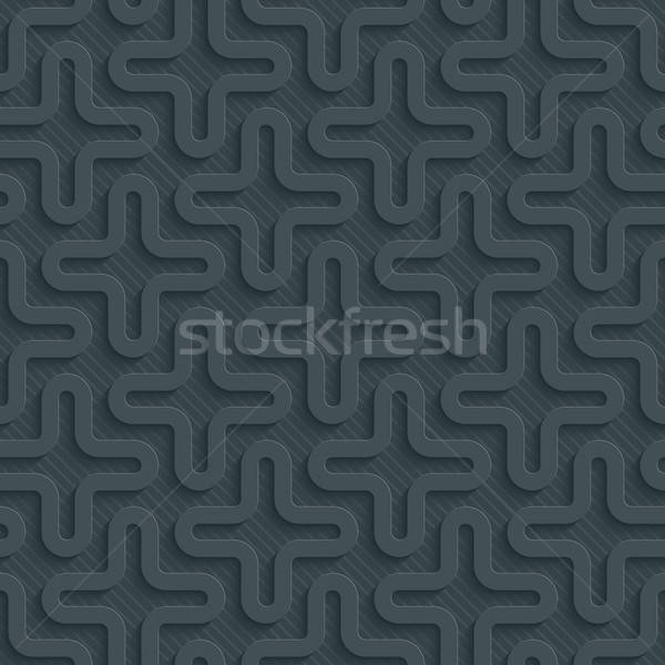 темно бумаги эффект аннотация 3D Сток-фото © almagami