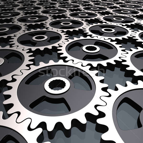 gears background Stock photo © almagami
