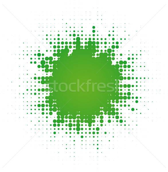 abstract digital blob Stock photo © almagami