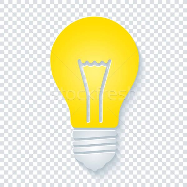Сток-фото: прозрачный · вектора · eps10 · бумаги · свет
