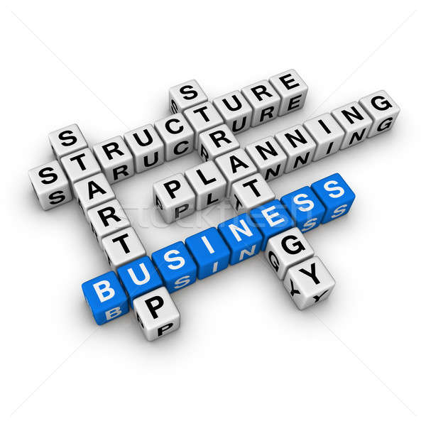 startup business Stock photo © almagami