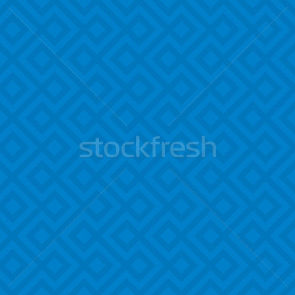 Blue Linear Weaved Seamless Pattern. Stock photo © almagami