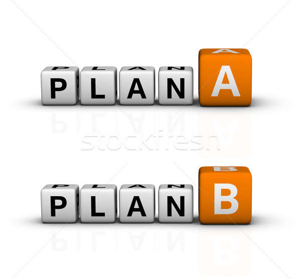 plan A and B Stock photo © almagami