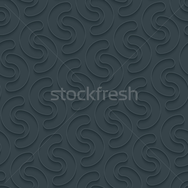 Dark perforated paper. Stock photo © almagami