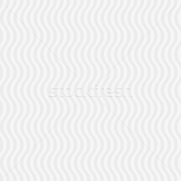 Ondulado padrão branco neutro moderno Foto stock © almagami