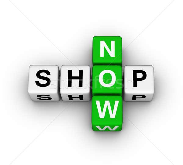shop now icon Stock photo © almagami