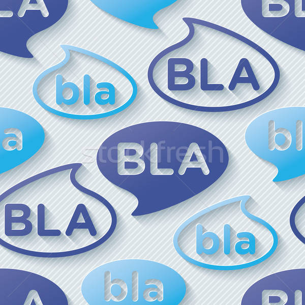 Bla-bla-bla walpaper. Stock photo © almagami