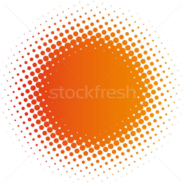 Stock photo: spotted design element