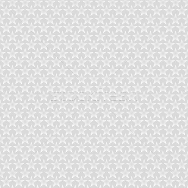 Neutro branco estrelas cinza fundo Foto stock © almagami