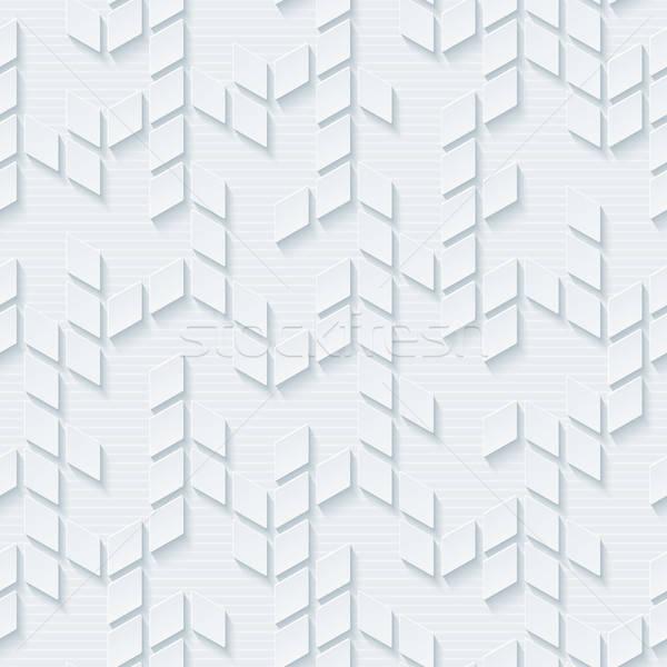 Soyut geometrik nötr mozaik vektör Stok fotoğraf © almagami
