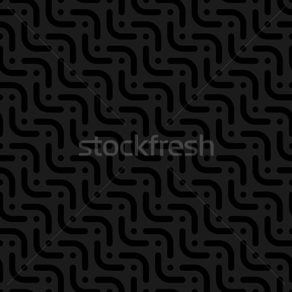 Nötr stil vektör web siyah Stok fotoğraf © almagami