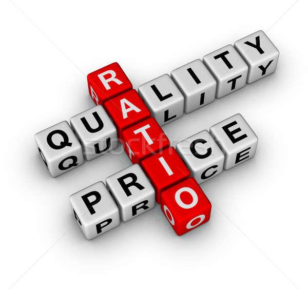 Quality and Price Ratio Stock photo © almagami