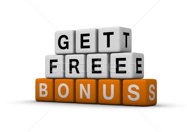 Foto d'archivio: Bonus · simbolo · libero · vendite · promozione · shopping
