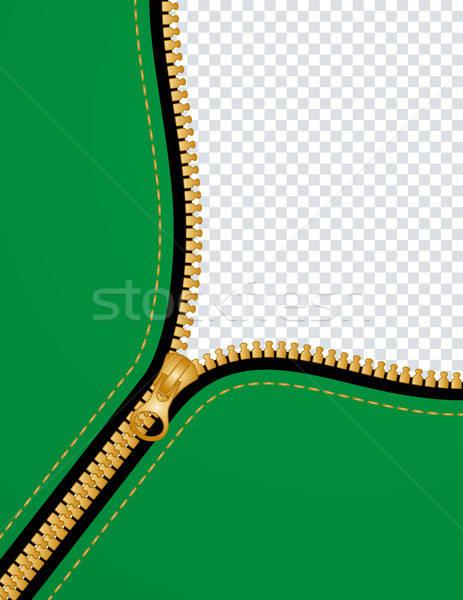 zipper background Stock photo © almagami