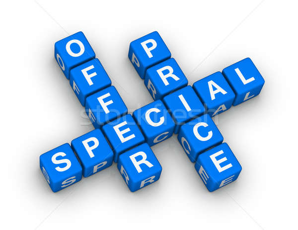 special offer and price Stock photo © almagami