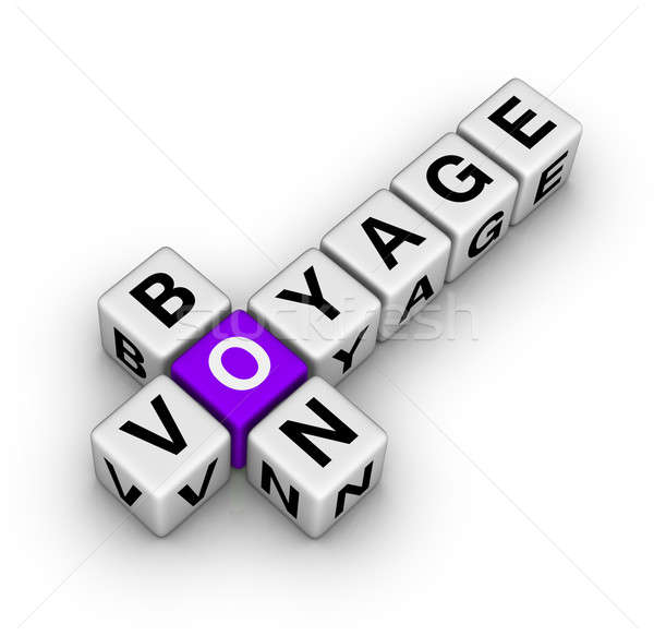 bon voyage Stock photo © almagami