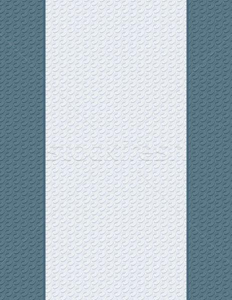 Lettera pagina 3D texture carta senza soluzione di continuità Foto d'archivio © almagami