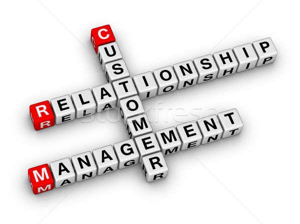 customer relationship management (CRM) Stock photo © almagami