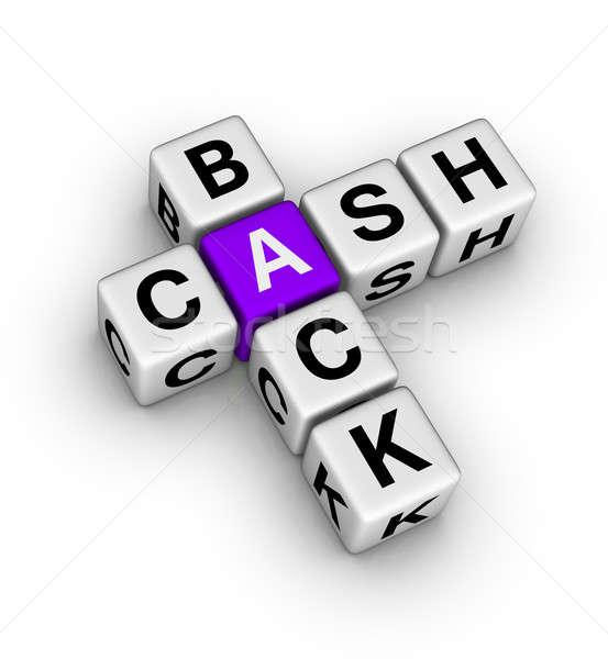 cash back icon Stock photo © almagami