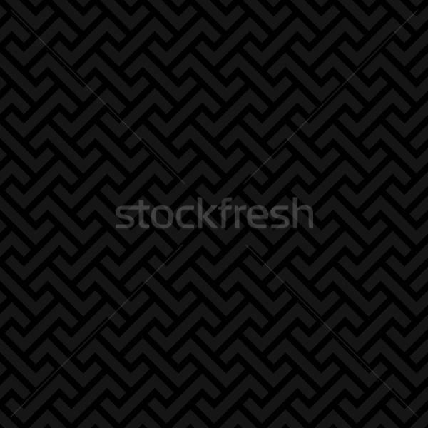 Czarny neutralny nowoczesne projektu stylu Zdjęcia stock © almagami