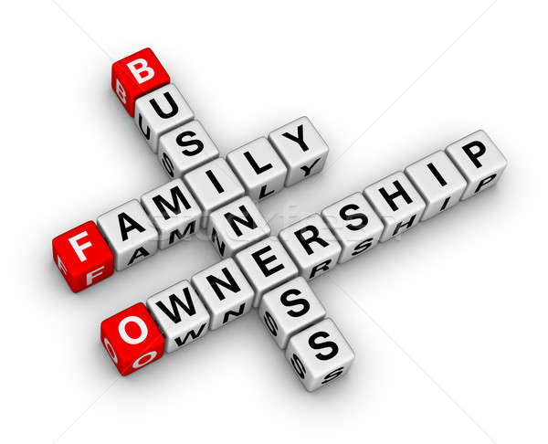 business family ownership Stock photo © almagami
