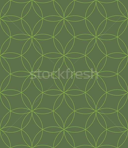 Neutral Geometric Seamless Linear Pattern. Stock photo © almagami