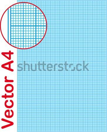 graph paper Stock photo © almagami