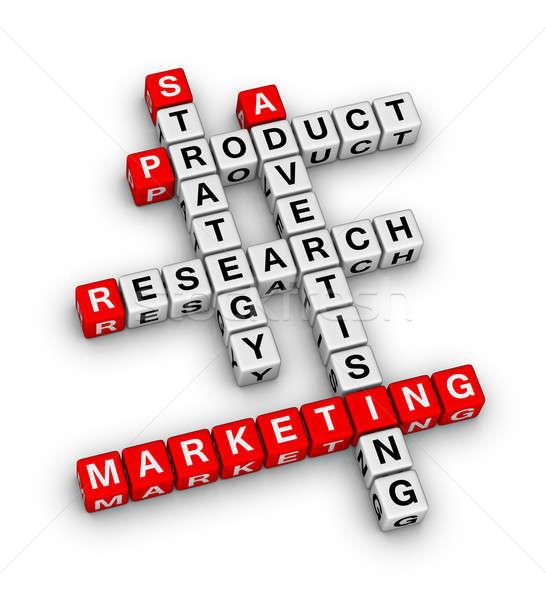 Stockfoto: Product · marketing · business · Rood · dienst · bedrijf