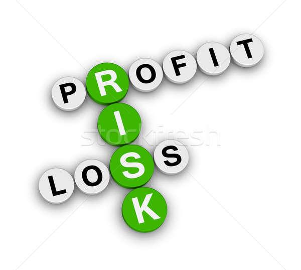 Stock photo: risk profit loss