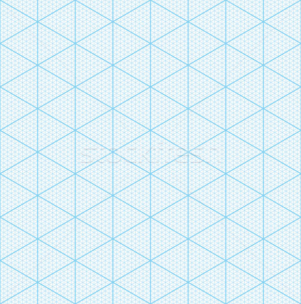 Isometric Graph Paper For D Design Vector Illustration  Marina