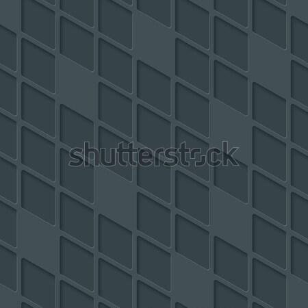 Absztrakt mértani végtelen minta semleges mozaik vektor Stock fotó © almagami