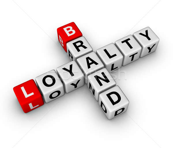brand and loyalty Stock photo © almagami
